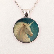 Horse Necklace Equestrian Jewellery Nature Animal Black and White Art Pendant in with Link Chain Included