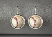Baseball earrings, baseball jewellery, baseball accessories