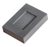 Graphite ingot mould for gold bar making