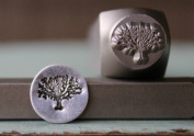 Brand New Supply Guy 10mm Tree of Life Metal Punch Design Stamp CH-121