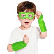 Superhero Eye Mask and Powerbands - Kids