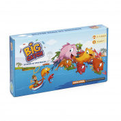 Logic Roots LRBGCHG5 Division Board Game, Blue