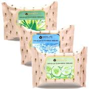 Korean Cosmetic Skinlite Make-Up Cleansing Tissues 30 Sheets