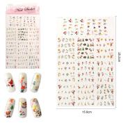 Christmas Design Nail Art Sticker DIY Fashion Gift