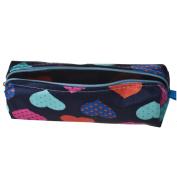 Hatop Heart Square Multicolor Cosmetic Bag Travel Bags Makeup Bag