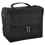 Beauties Factory Extendable 4 Compartments Makeup Outdoor Beautician Nail Tech Soft Bag Case