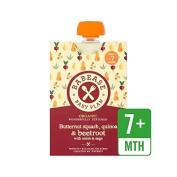 Babease Organic Butternut Squash, Quinoa & Beetroot with Onion & Sage 130g - Pack of 6