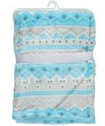 """Cribmates Baby Boys' """"Sweet Sleep"""" Plush Blanket - blue, one size"""