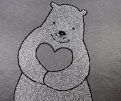 Teddy - 100% Cotton Baby Blanket by Pink Lemonade