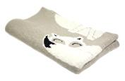 Sleepy Fox - 100% Cotton Baby Blanket by Pink Lemonade