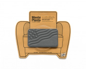 MastaPlasta, Leather Repair Patch, First-aid for Sofas, Car Seats, Handbags, Jackets, etc. Grey Colour, Flag 10cm by 6.1cm , Designs Vary