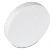 15cm smooth craft foam disc pack of 12