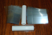 50 Clear Shrink Wrap Bands Sleeves for Lip Balm (Chapstick) Tubes - Tamper Evident Safety Seal