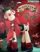 """1995 Daisy Kingdom Stitch N Stuff Doll Kit #32310 """"Rudy"""" 46cm Reindeer"""