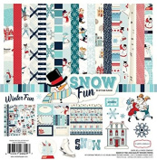 Carta Bella Paper Company Snow Fun Collection Kit 12 x 12