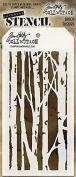 Stampers Anonymous - Tim Holtz - Birch Stencil