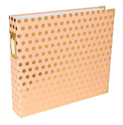 Project Life 12x12 Blush Dot Designer Album