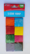 Tissue paper squares multi colour 1500 ct crafters square
