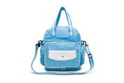 Fresh Colour Multifunction 5 Ways Wear Nylon Baby Boom Backpack Nappy Bag