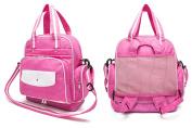 iSuperb Nappy Bag Baby Nappy Backpack Water Resistant Roomy Shoulder Tote Bag Handbag 12.6 x 19cm x 31cm