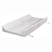 Babyletto Pure 80cm Non-toxic Waterproof Contour Changing Pad for Changer Tray, White