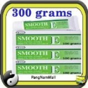 New Smooth E Cream Anti Ageing Wrinkles Vitamin E Aloe Vera Scars Acne Spot Mark (100 G.x3) Made in Thailand