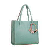 Kemilove Fashion Elegant Girls Handbags Leather Shoulder Bag Candy Colour Flowers Women Tote