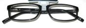 Magnivision Liam C Gry Reading Glasses +1.00