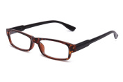"""Newbee Fashion - """"Dye"""" Simple Comfortable Light Weight Fashion Reading Glasses with Spring Hinges"""