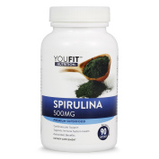 SPIRULINA Superfood Supplement Best Natural Multi Vitamin & Mineral Supplements, Powerful Antioxidant, Rich in Protein & Essential Amino Acids Energy & Immune Support Vitamins A & K with B Complex