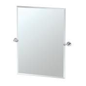 Gatco 4639S Glam Rectangle Mirror, Chrome