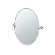 Gatco 4639 Glam Oval Mirror, Chrome