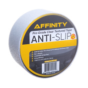 Anti-Slip Tape - Clear Textured Slip Resistant Safety Tread, 5.1cm x 760cm