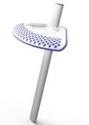 Shower Sidekick (Lavender) - Portable Adjustable Shower Shaving Stand - Shaving Ledge