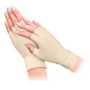 Gent House Unisex Half-finger Anti Arthritis Health Gloves Men Size