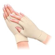 Gent House Unisex Half-Finger Anti Arthritis Health Gloves Ladies Size