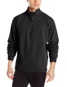 Berne Men's Big & Tall Original Fleece Quarter Zip Thermal Lined