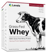 Levels Pineapple Apple Beet 100% Grass Fed Whey Protein, 2.3kg, 61 Servings, 1 Full Serving Of Fruits & Vegetables Per Scoop, No GMOs, Mixes Instantly