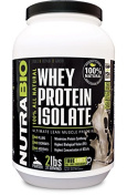 NutraBio Natural 100% Whey Protein Isolate - Sweetened with Stevia - 0.9kg Vanilla – NO Soy, NO Whey Concentrate, NO Amino Acid Spiking just 100% Pure WPI.
