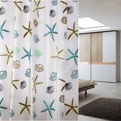 YOLOPLUS 72x78 Inch Mildew-Free Water-Repellent PEVA Shower Curtain