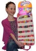 Shopkins Compatible Toy Organiser Bundle with Halloween Pumpkin Blind Bag Basket