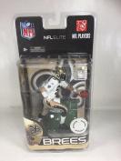 McFarlane Toys NFL Elite Toys R Us Exclusive Drew Brees White Jersey Gold Pants New Orleans Saints Action Figure