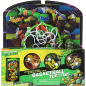 "Teenage Mutant Ninja Turtles TMNT Bathtub Basketball ""Tub Toss"" Gift Set"