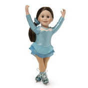 Maplelea Icy Cool Skating Dress for 46cm Dolls