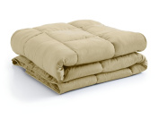 Southshore Fine Linens - Vilano Springs - - Down Alternate Weight Comforter - Gold - TWIN / TWIN XL