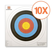 Xhunter 10X PAPER & FACE TARGET 60cm FOR COMPOUND & RECURVE BOW ARCHERY
