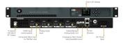 ZeeVee HDb2840-NA ZeeVee HDb28240 4 Channel HDbridge 2000 Series Encoder / Modulator HDMI 1080p