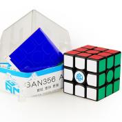 CuberSpeed Gans 356 Air (Standard) 3x3 Black Magic cube Gan 356 Air (Standard) 3x3x3 Speed cube