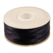 NYMO Nylon Beading Thread Size D for Delica Beads - Black 64 Yards