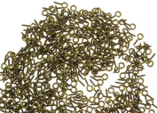 """Yueton Pack of 500 Mini Screw Eye Pin Peg Jewellery Making Findings for Crafting 10*4.5mm/0.39*0.18"""""""